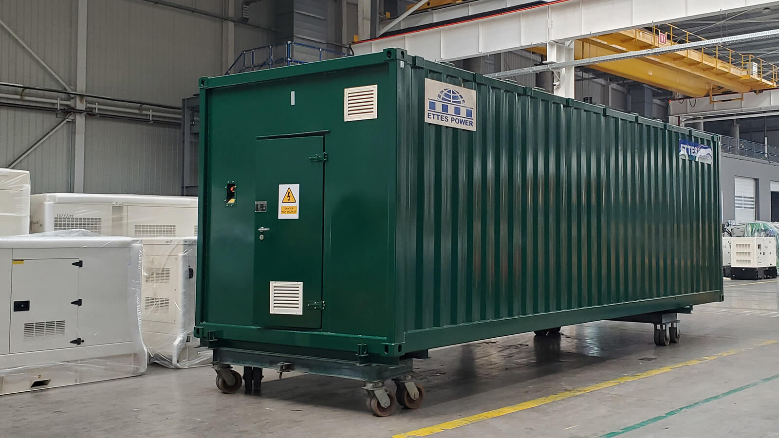MAN Containerized Digester Biogas Generators are Transported to Seaport ETTES POWER
