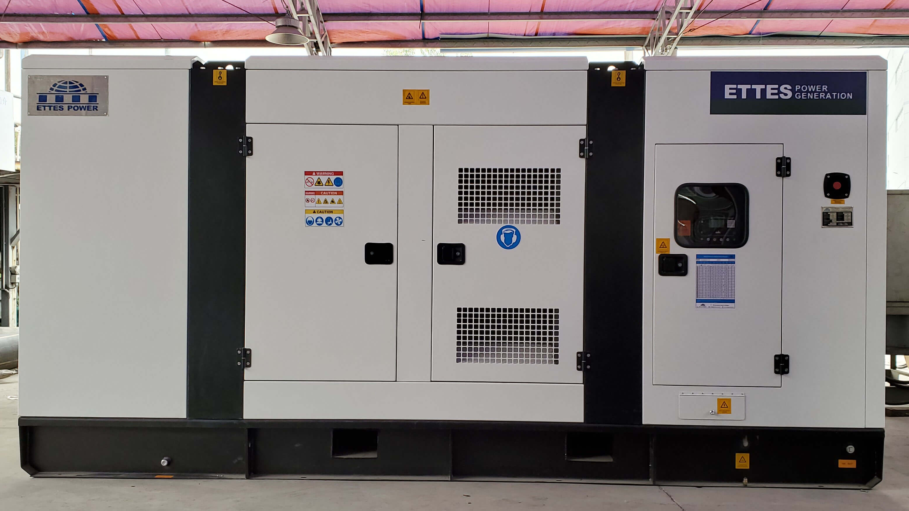 4×250kVa Natural Gas Generator Station to Africa