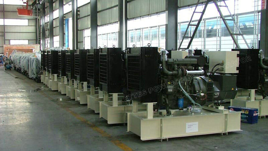 39 Units Deutz Diesel Engine Generators to Saudi Arabia