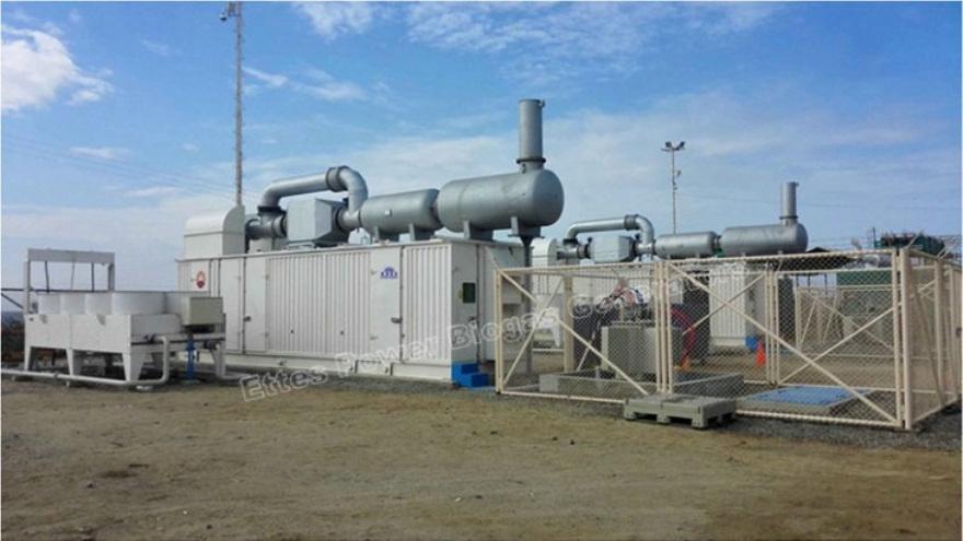Ettes Power CNPC Oilfield Containerized Natural Gas Engine Generator-Power Plant Ettespower