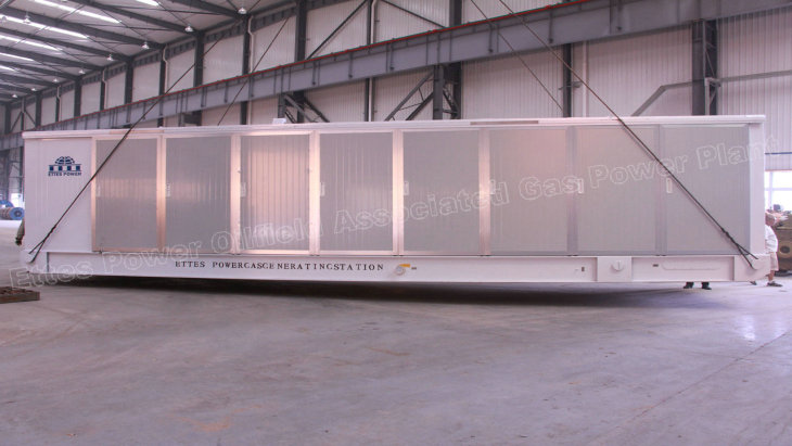 Ettes Power Group Containerized Natural Gas Generating Set 1000kw-1mw 500kw 800kw Ettespower