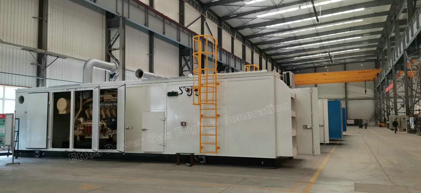Ettespower MWM 1000kw 1000kva containerized natural gas generator set ETTES POWER