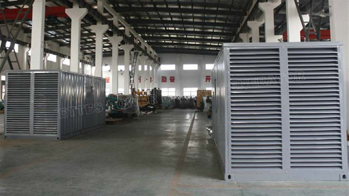 Ettes Power 1MW 2MW 2000kVa Cummins Backup Emergency Generator by QSK50 K38 K19 Ettespower Group