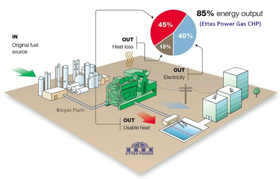 ETTES-POWR-Biogas Diagram-of-Combined-Heat-and-Power-CHP