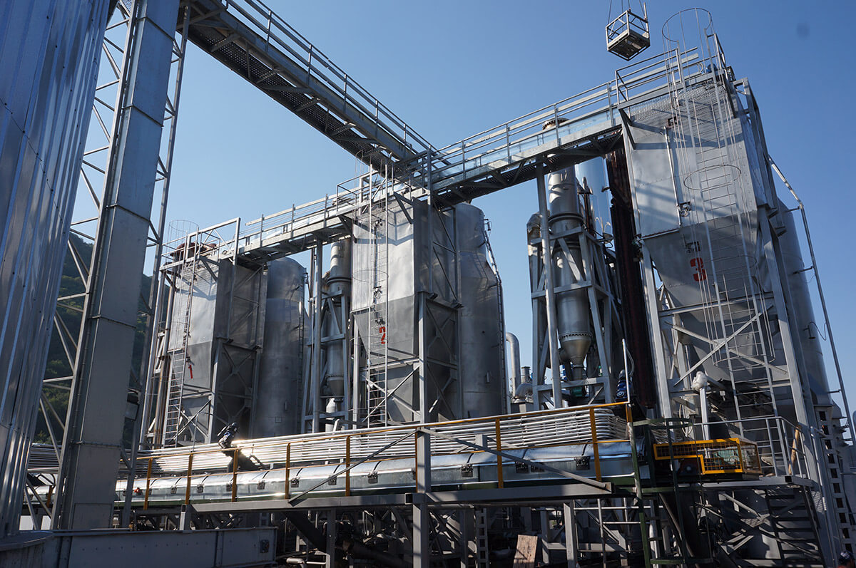 5MW High Voltage Syngas-Biomass Power Plant in Italy