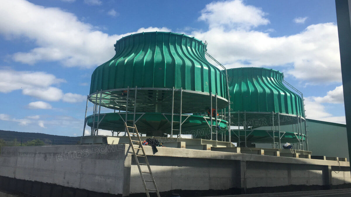 ETTES Cooling Tower of Syngas Biomass Power Plant-ETTES GROUP
