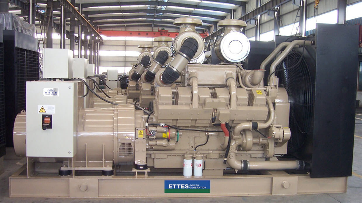 Cummins Diesel Engine Generators to South Korea
