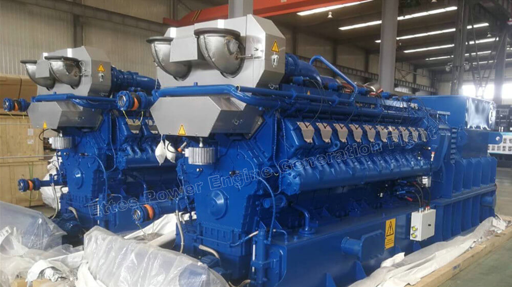 Ettes Power Group 500kW 800kW MWM Man Biogas generating set CHP Power Station Ettespower