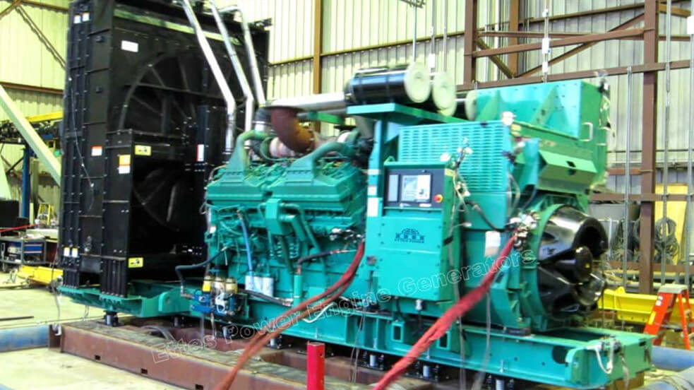 6.3KV Cummins Diesel Power Generation to Argentina
