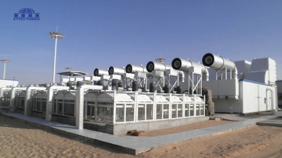 6MW Oilfield Associated Gas Power Plant in Niger West Africa