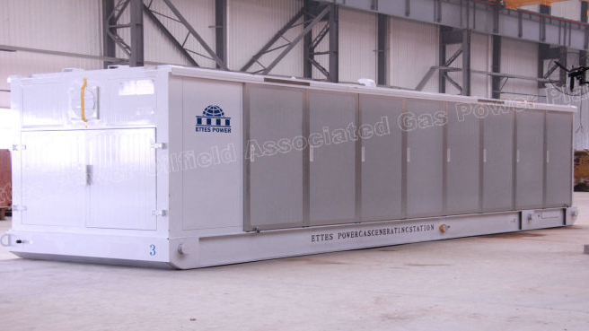 Ettespower Group Container Gas Engine Generation 1000kw 1mw-500kw Ettes Power